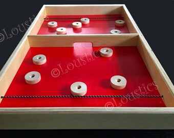 Exciting wooden elastic-pitch game , Pro format, perfect for parties or game evenings