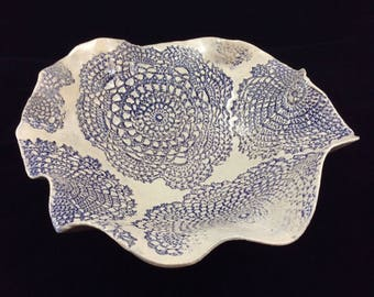 Large lace bowl