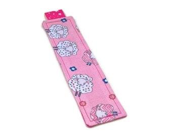Bookmark pink sheep.