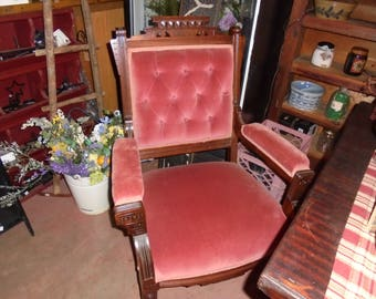 Gorgeous VICTORIAN PARLOR CHAIR Set