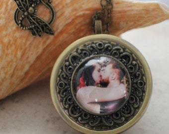Music box pendant etsy personalized music box locket music box locket photo locket music box locket aloadofball Gallery