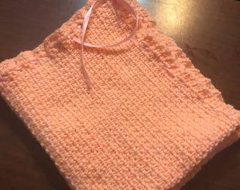 Small Crochet Baby Blanket