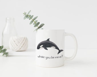 Orca Mug / Ceramic Mug / Washington Mug / Whale Mug / Pacific Northwest Mug / Cascadia Mug / Washington Gifts / Seattle Gifts / Orca Whale