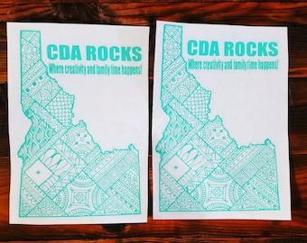 CDA Rocks car decal