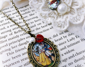 Disney's Beauty and the Beast Necklace