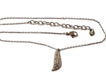 Vintage Swarovski Crystal Pendant / Necklace Wedding
