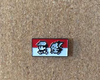 Pokemon 8-bit Enamel Pin