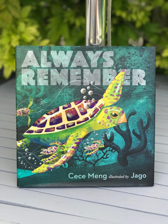 Signed book - Always Remember - by Cece Meng