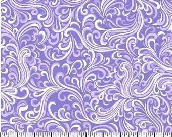 QUILTING COTTON FABRIC Breezeway Purple  End of Bolt Sale #507-2
