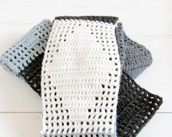 Crochet infinity scarf--> english PDF PATTERN