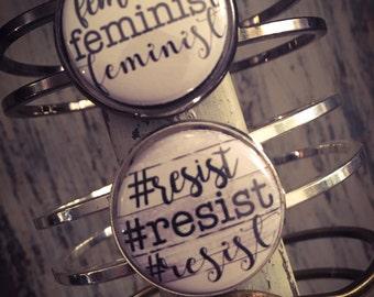 Women' March, Equality Bracelet, Equality Jewelry, Bracelet Equality, Gender Equality, Equal Rights Jewelry, Feminist Bracelet, Feminist