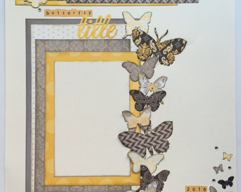 Butterfly  One-page Layout Kit **