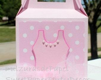 Ballerina Favor Boxes, Tutu baby Shower Invite,Ballerina Favor Bags,Favor Boxes,Ballerina Favors,Girl Birthday Favor Boxes,Girl Favor Boxes