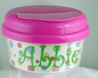 Personalized Snack Bowl