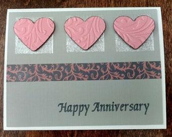 Set of  3 Happy Anniversary Card