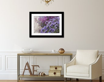 Purple Flower Wall Art, Flower Photography, Flower Print, Purple Floral Photo, Abstract Nature Print, Flower Photography, Soft Flower Print