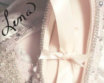 Wedding ballet flats   Etsy