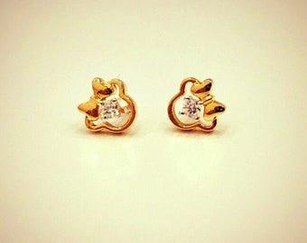 Mini mouse earrings