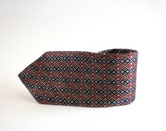 Vintage Oscar de la Renta Couture Silk Necktie