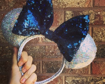Sparkly minnie ears