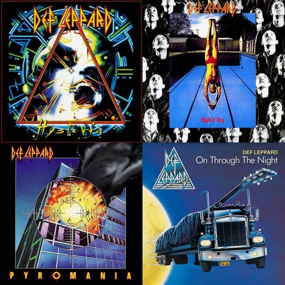 Def Leppard Album Cover S...