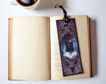 Bookmark - The Wizard cat