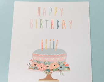 Add a Birthday card to your necklace