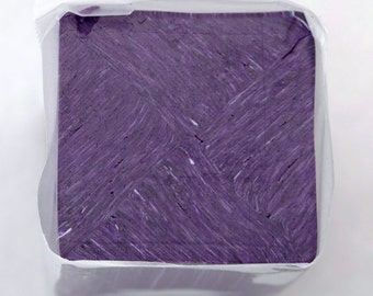 Polymer Clay Starry Night Tile Cane Purple, Polymer Clay, Cane, Canes, Unbaked Cane
