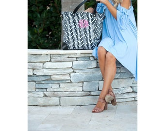 Carolina Night Personalized Shoulder Bag