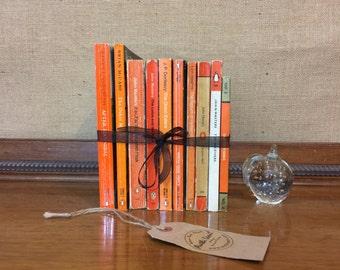 Orange Books | PENGUIN Books | Paperback Books | Vintage Paperbacks | Book Stack | Instant Library | Custom Sourced Books | Paperbacks