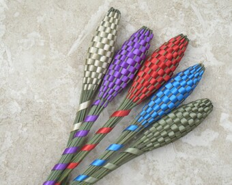 Lavender Wands - Five (5) Large Assorted Colors