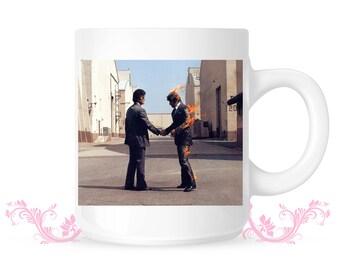 Pink Floyd Mug - I wish you were here -