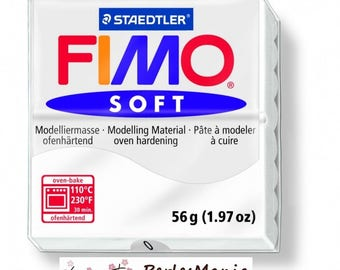 1 bread Fimo SOFT white 56 gr REF 8020 0 modeling clay