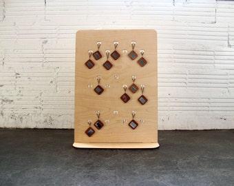 Jewelry Display Stand, Tradeshow Display, Craft Booth Display, Portable Display, Flat-pack Display, Wooden Jewelry Stand, Display Stand