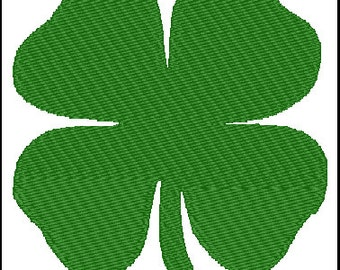 Clover Embroidery Design