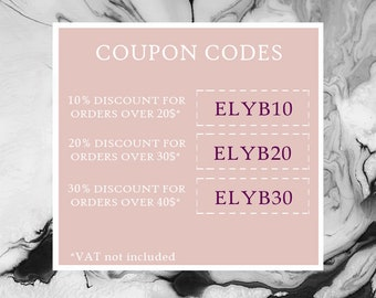 Coupon code etsy coupon codes 2018 elysebear shop only fandeluxe Images