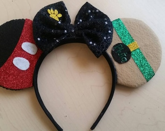 Mickey Mouse and Pluto Minnie Mouse ears