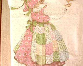 Vintage Hollie Hobbie Holly Hobby doona duvet cover fabric single bed