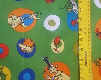 Celebrate Seuss! Character spots 1yd