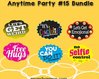 "Party Signs | Anytime Party ""15"" 