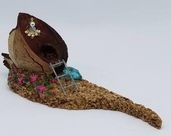 Whimsical Mini Fairy House-the nut house