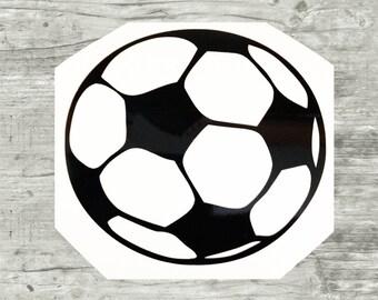 Soccer decal, soccer vinyl decal, soccer vinyl sticker, soccer sticker, soccer team gifts