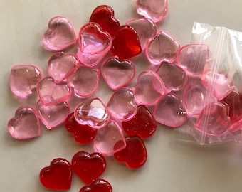 Mini Heart Charms