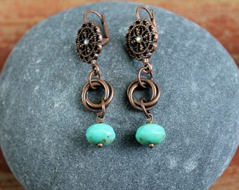 Dangle Loopty Loo Earrings