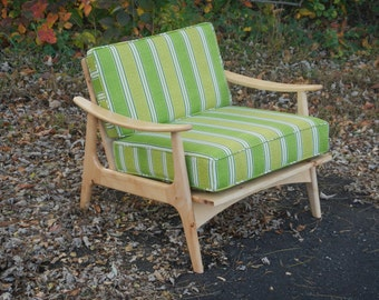 Midcentury Modern, Accent Chair, Furniture, Lounge, Chair, Danish, Modern, Easy Chair, Wood, Retro, Living Room, Home Décor, Décor, Maple