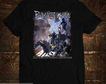 T-Shirt Burzum Sôl Rede, Mâni Vestaan Varg Vikernes