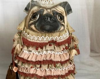 Mistress pug named Patricia