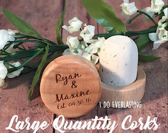 Wine Stopper Wedding Favor, Custom Wine cork, Wine Stopper Favor, Wedding Wine Cork, Rustic Wedding Cork, Unique Wedding Favor, Wedding