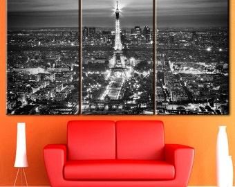 Eiffel tower wall, Eiffel tower decor, Wall decor, Paris decor, Home decor, Paris wall art, Paris print, Canvas art, Paintings on canvas