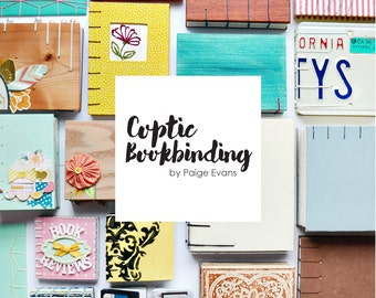Coptic Bookbinding Class PDF and Video Link